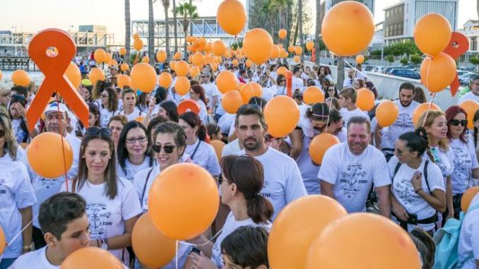 Χίλιοι περίπου Λεμεσιανοί περπάτησαν κατά της λευχαιμίας
