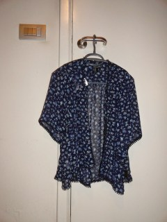 Clothes & Dreams: Shoplog: Antwerp!: Blue floral kimono from Forever21