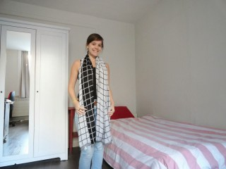 Clothes & Dreams: Shoplog: Bershka, H&M, Pimkie + ASOS: H&M Black and white checked scarf