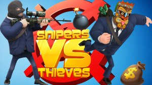 SNIPERS VS. THIEVES LIVE STREAM 8-10 PM CENTRAL