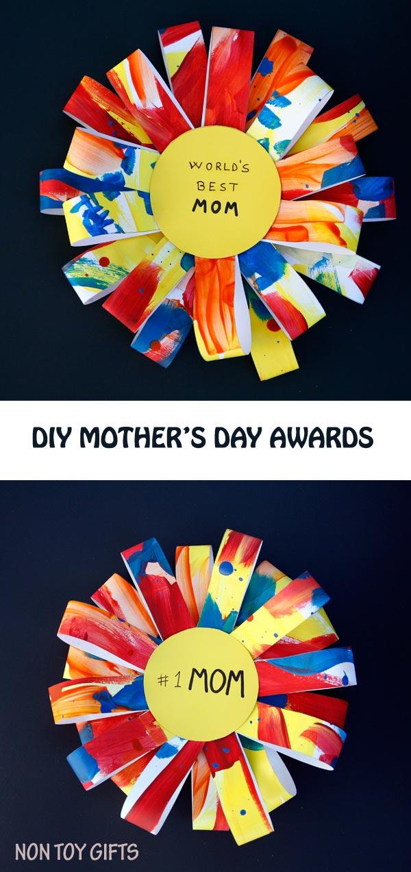 DIY Mothers Day Awards