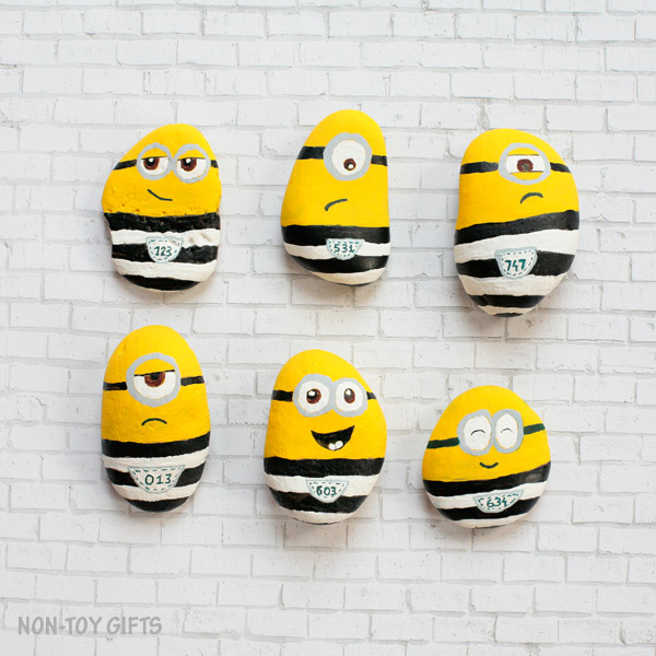 Minions in Jail Rocks by Non Toy Gifts