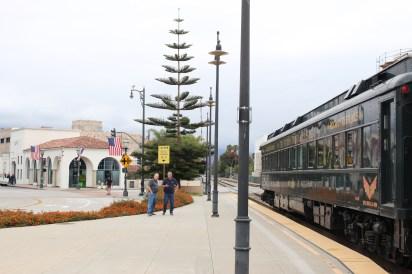 Pit stop in Santa Barbara