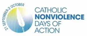 Catholic Nonviolence Days of Action logo