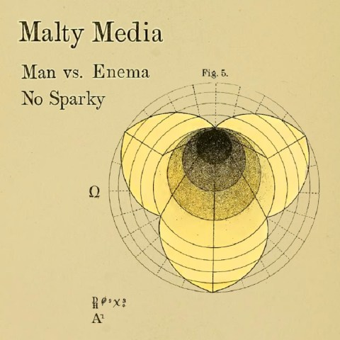 Man vs Enema / No Sparky cover