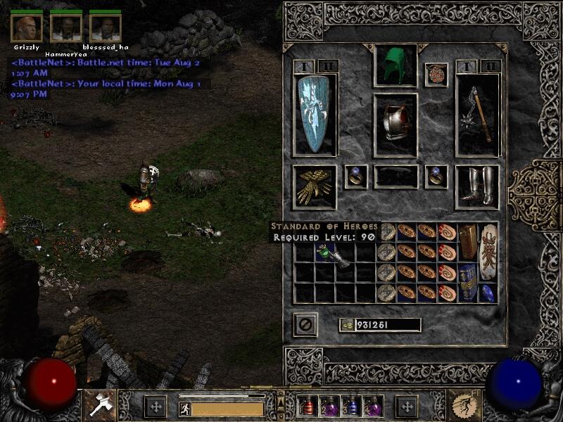 El conocido juego Diablo II