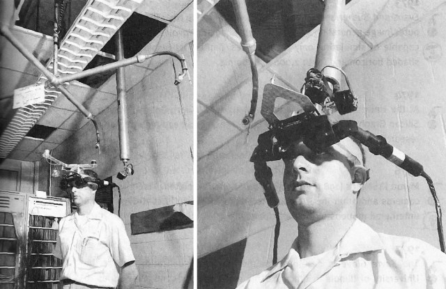 The Sword Of Damocles VR headset