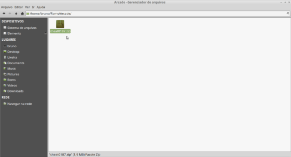 Como colocar cheats no emulador Mame no Linux