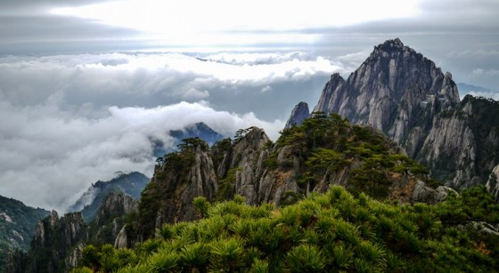 photos Huang Shan Chine Montagnes Jaunes