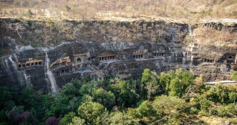 photos grottes d'Ajanta - Inde