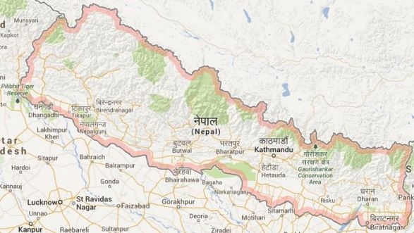 Carte Nepal