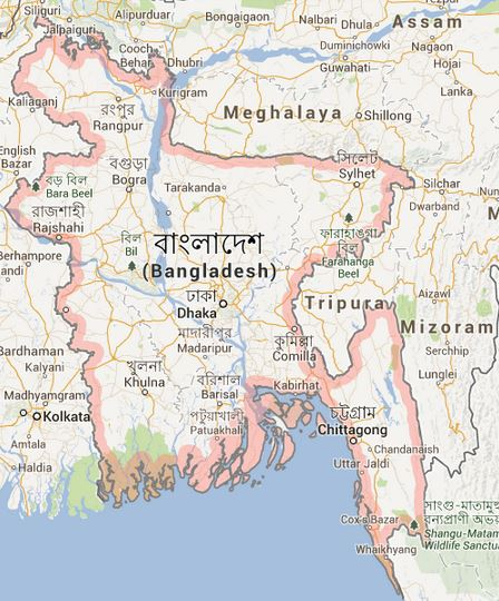 carte bangladesh