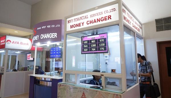 Birmanie carnet de voyage - Bureau de change aeroport ...