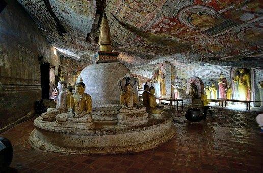 grottes dambulla sri lanka