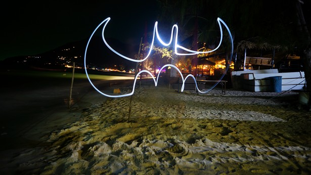 tuto light painting