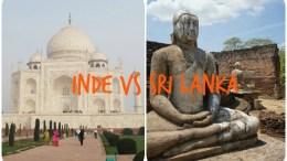 Inde ou Sri Lanka
