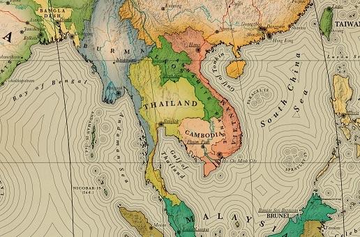 Thailande carte