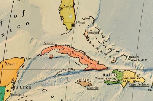 Carte Cuba Detaillee.Carte Touristique De Cuba A Telecharger Noobvoyage Fr
