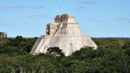 site uxmal mexique ruines