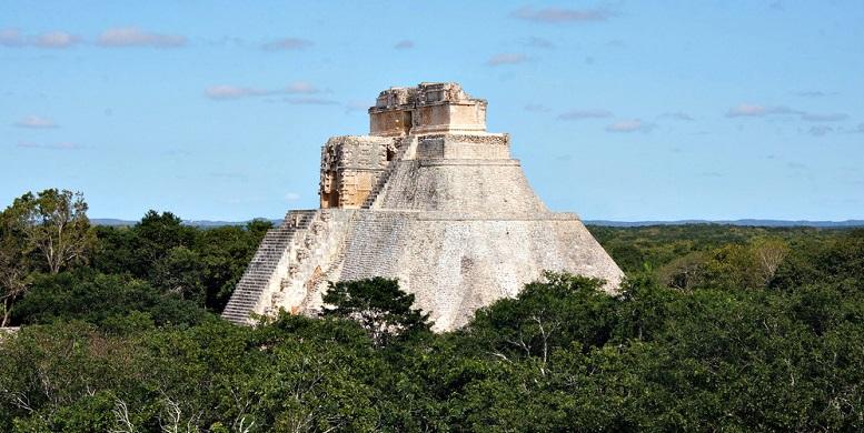 site uxmal mexique ruines