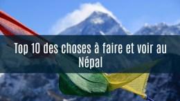 à ne pas manquer au népal