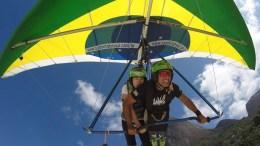 Volo in deltaplano a Rio de Janeiro