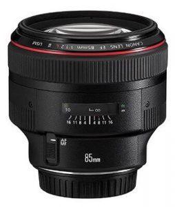meilleurs objectifs pour Canon EOS 5D MARK IV