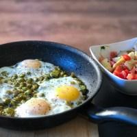 Baghala ghatogh: tuinbonen met ei, dille en véél knoflook