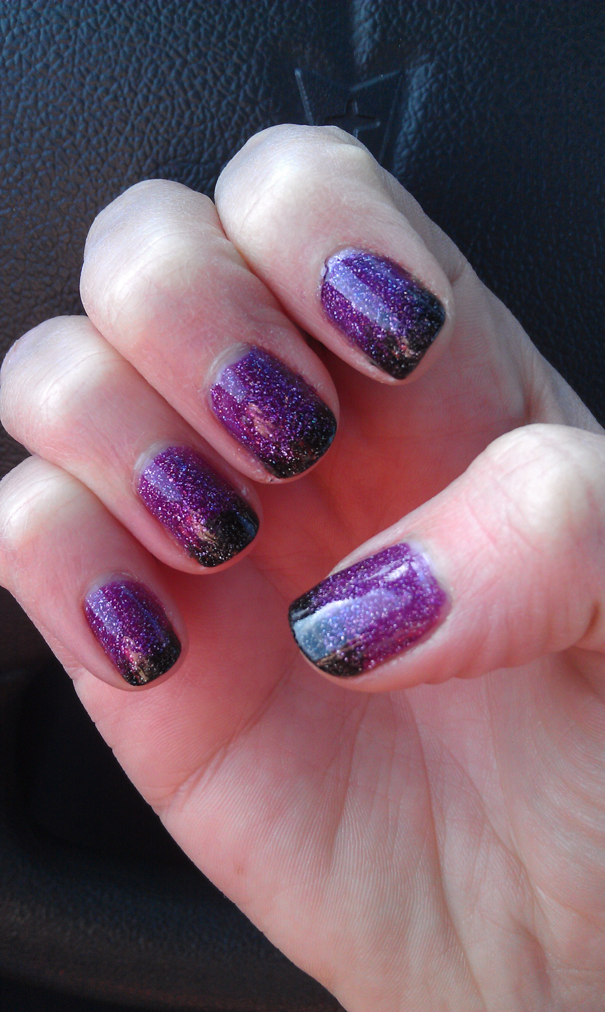 Faded French Tip Manicure Plus Polish Review Zoya S Aurora And