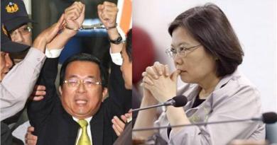 陳水扁批蔡英文 曾藉尿遁封殺赦免案才是沒收民主