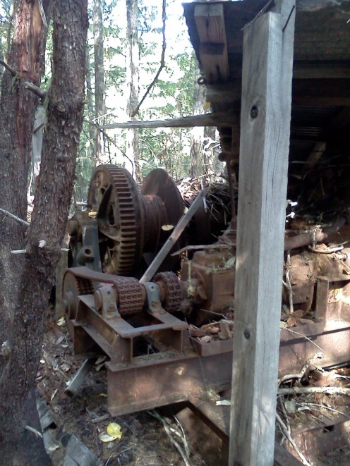 yarding machine 3