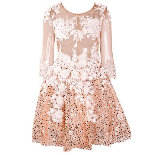 Kleid Mini gold
