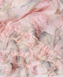 Produktbild Kleid mit Rüschen- Detail Material