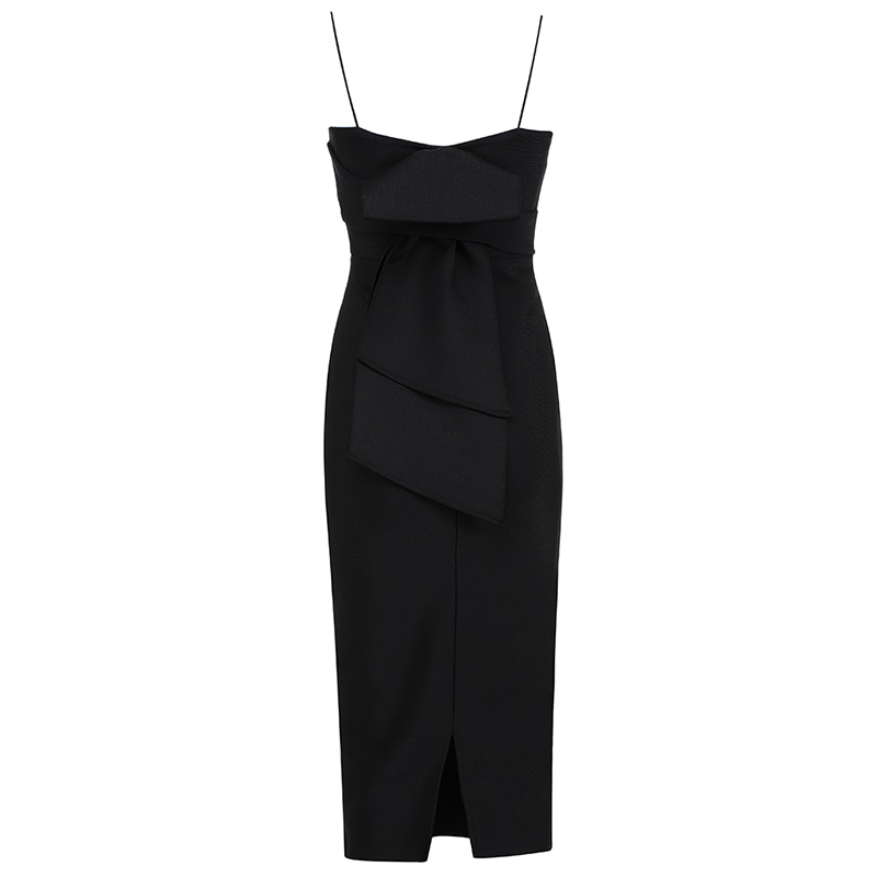 Produktfoto Kleines schwarzes Kleid von hinten