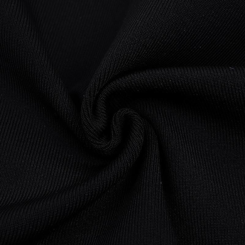 Detailaufnahme Kleines schwarzes Kleid Material