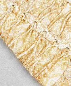 Detailaufnahme Produktbild Sommerkleid gelb