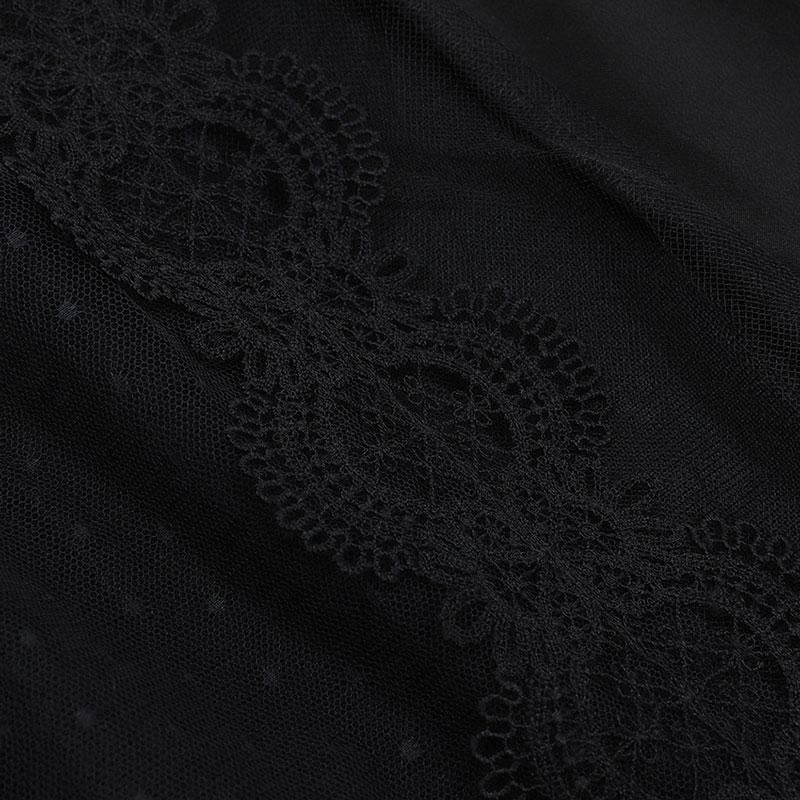 Detailaufnahme Jumpsuit schwarz