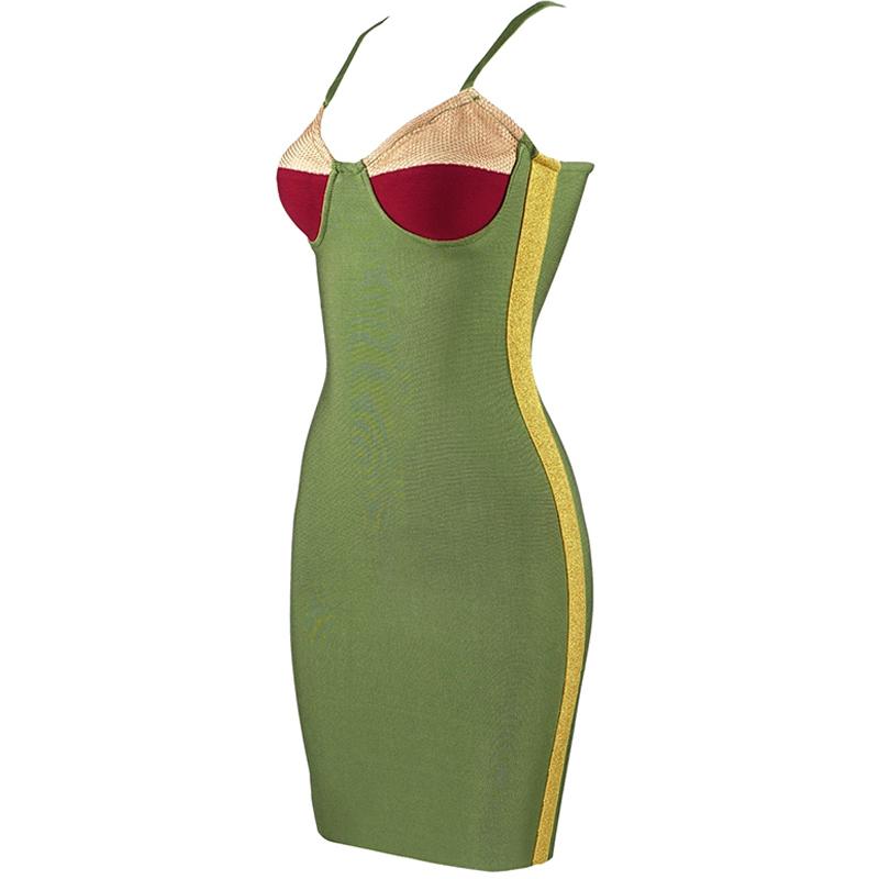Produktbild Kleid grün seitlich