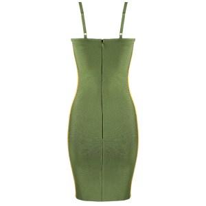 Produktbild Kleid grün von hinten