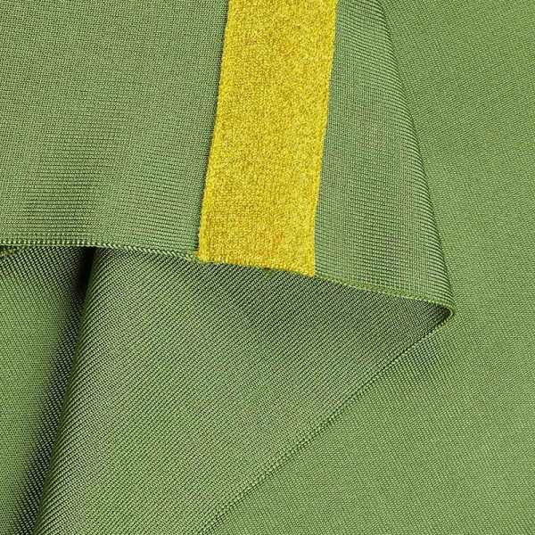 Materialaufnahme Kleid grün