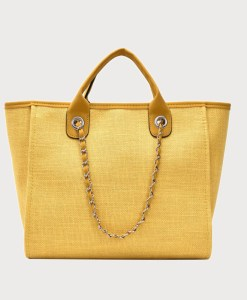 Produktfoto von vorne Tasche Canvas gelb