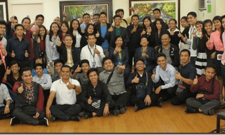 University of Southeastern Philippines students start early on SSS importance