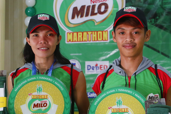 Lamparas, Martes snare centerpiece prizes in 42nd National MILO Marathon Urdaneta