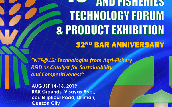 BAR is all set for 15th agri-fishery tech forum and product exhibit