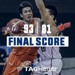 Maliksi's consistency, grabs 17 points against Alaska lifting Meralco to first Bubble win, 93-81