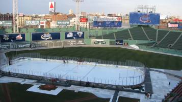 Frozen Fenway will return in January 2017. (PHOTO CREDIT: Matt Noonan for NoontimeSports.com)
