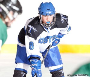 UMass Boston's Courtney White found the net twice for the first time this season, as she registered goals in the Beacons last two contests! (Photo Credit: UMass Boston)