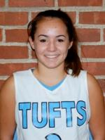 Kelsey Morehead led all scorers on Tuesday with 13 points in Tufts University's 21st victory of the season! (Photo Credit: Tufts University Athletics)