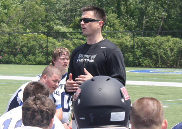 Bob Chesney is very optimistic about his first season with Assumption College! (Photo Credit: Assumption College Athletics)
