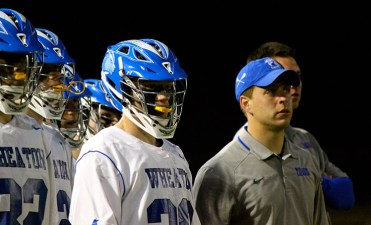 Matt Colombini - a former assistant at Colby and Wheaton - has been named the Emerson College men's lacrosse coach. (Photo Credit: Wheaton College Athletics)
